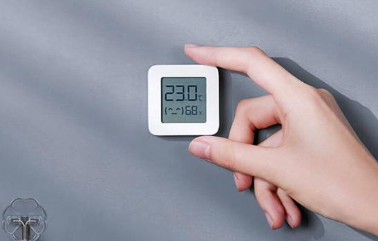 Nhiệt ẩm kế Xiaomi Mijia gen 2 thiết kế nhỏ gọn, tiện dụng