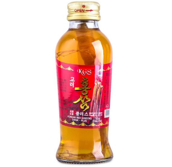 Nước hồng sâm có củ KGS Hàn Quốc đóng chai tiện dụng