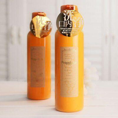 Nước Súc Miệng Propolinse Chiết Xuất Trà Xanh Của Nhật màu cam