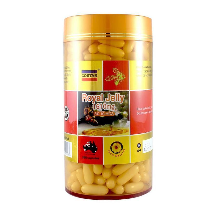 Viên Sữa Ong Chúa Costar Royal Jelly Của Úc 1450mg 365 Viên