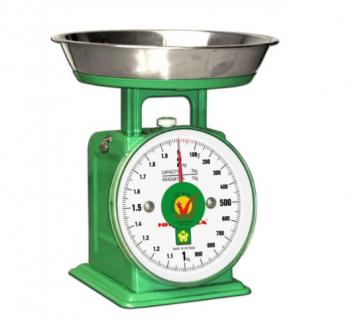 Cân đồng hồ lò xo 2kg, vạch chia 10g