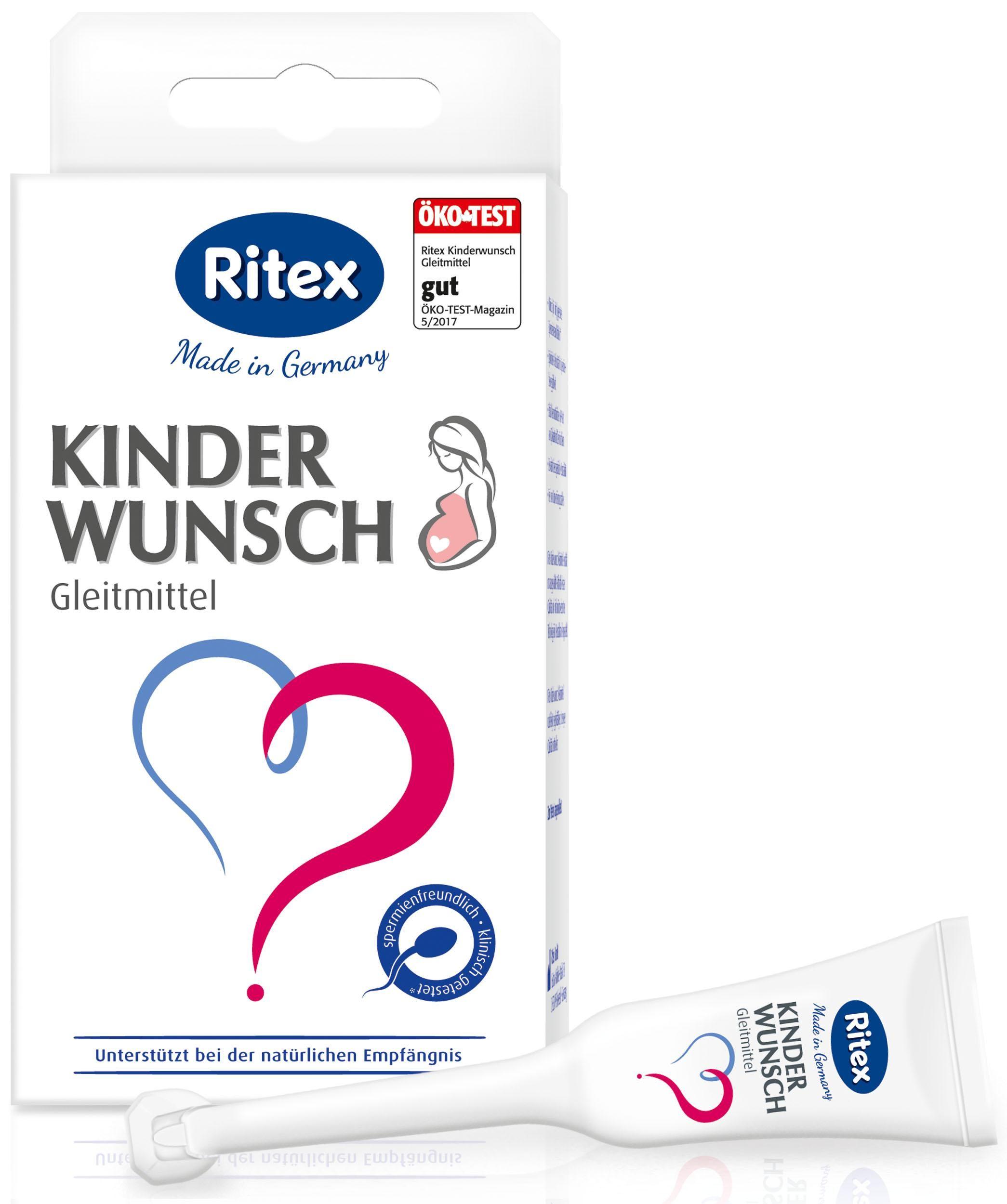 Gel bôi trơn hỗ trợ sinh sản nữ Ritex KinderWunsch Gleitmittel