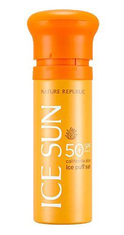 Kem chống nắng Nature Republic Ice Sun SPF50 làm mát da mặt (mẫu 2019)