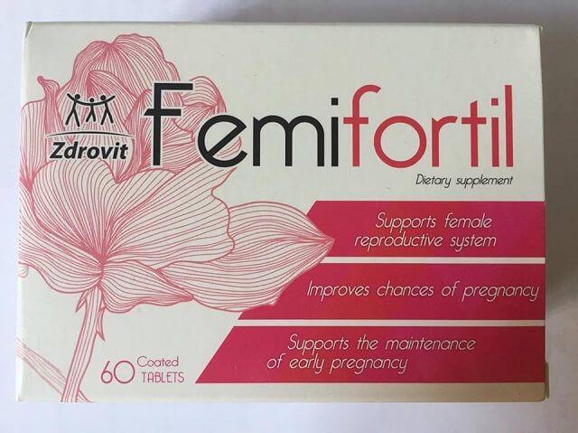 Viên Femifortil hỗ trợ trứng khỏe, tăng khả năng thụ thai