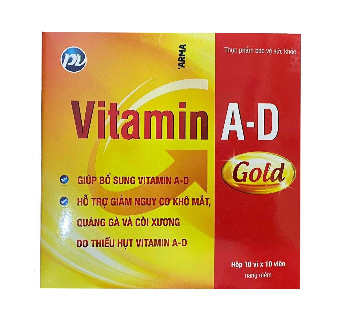 Bổ sung vitamin A, D giúp phòng ngừa thiếu vitamin A, D cho trẻ em, phụ nữ
