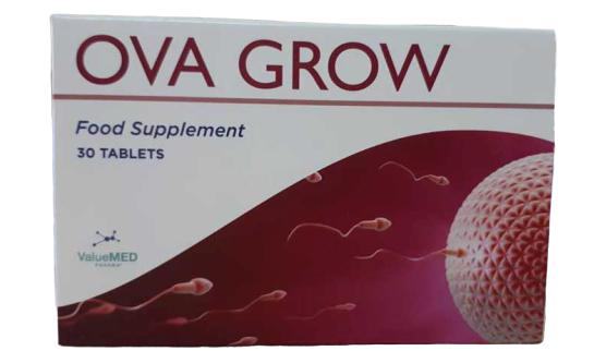 Viên uống Ova Grow hỗ trợ sức khỏe sinh sản nữ giới