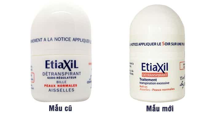 Lăn khử mùi Etiaxil Xanh cho da thường
