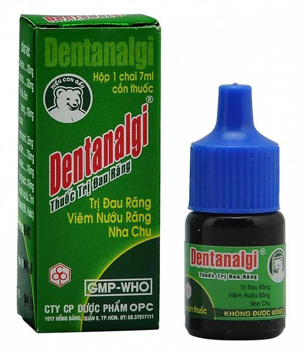 Thuốc xức răng DentgitalSát trùng, gây tê, kháng viêm trong đau nhức răng