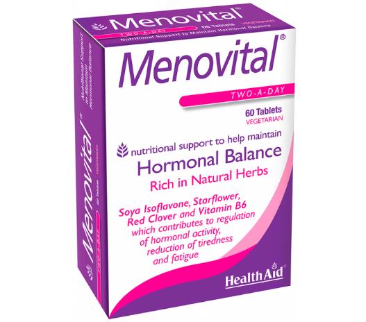 Viên uống tăng cường sinh lý nữ, làm đẹp da HealthAid Menovital