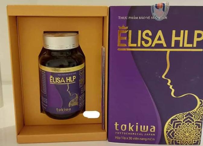 Viên uống nội tiết tố Elisa HLP mẫu cũ