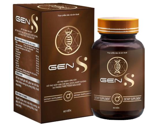 viên uống gens chiết xuất tự nhiên, an toàn cho sức khỏe