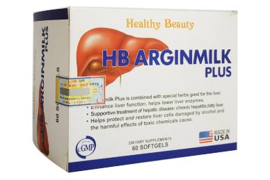 HB Arginmilk Plus hỗ trợ giải độc gan, bảo vệ chức năng gan