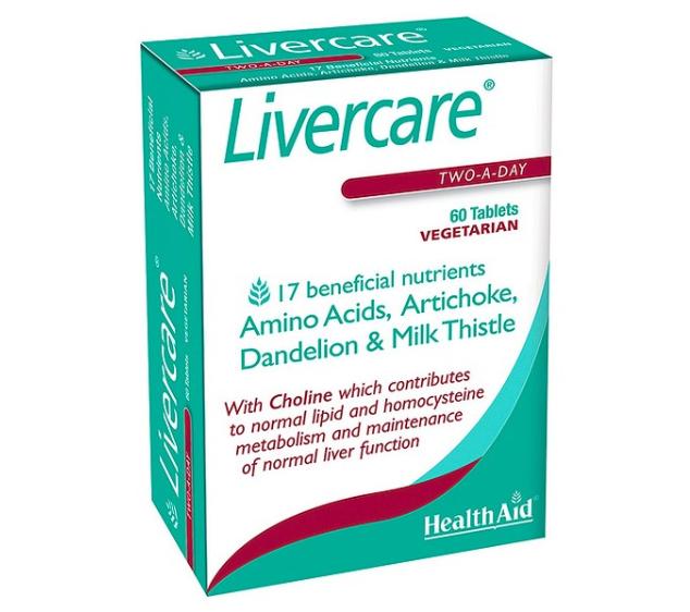 Healthaid LiverCare hỗ trợ giải độc, bảo vệ gan