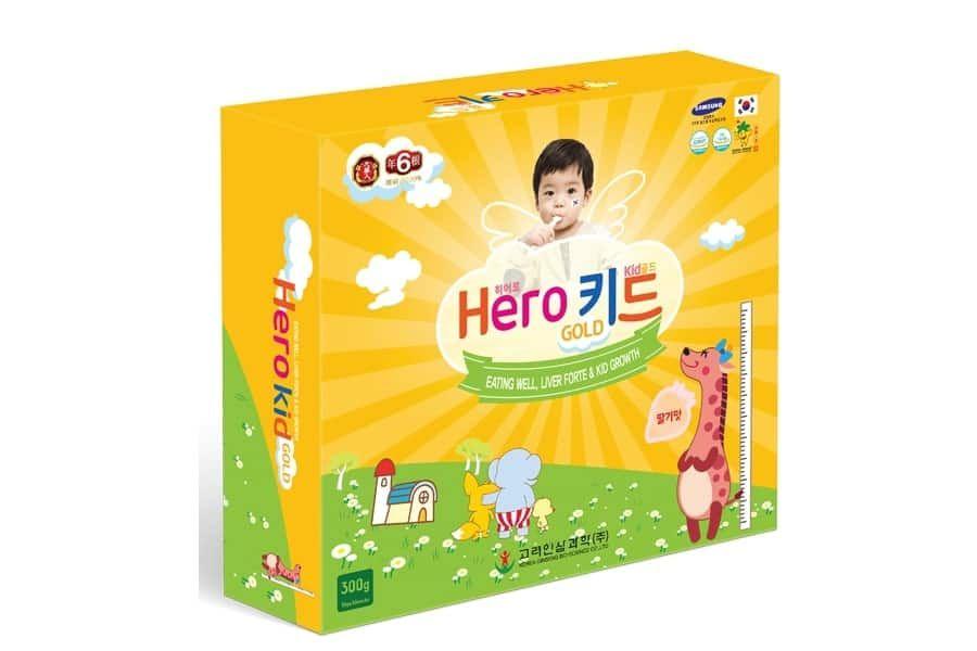Siro Hero Kid Gold giúp trẻ ăn ngon, tiêu hóa tốt