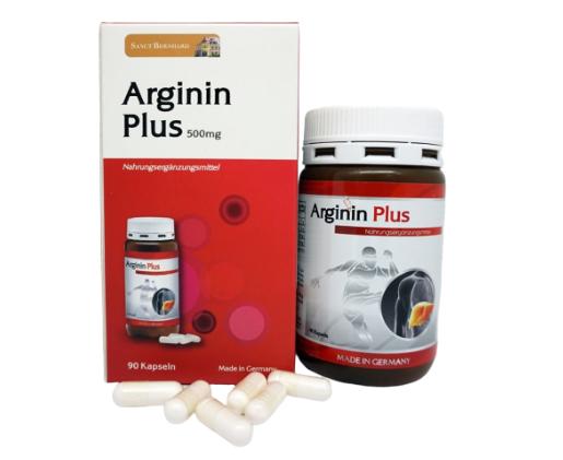 Viên uống bổ gan Arginin Plus 500mg của Đức