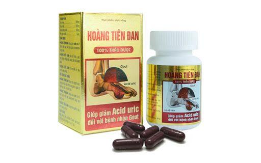 Hoàng Tiên Đan- viên uống hỗ trợ điều trị gút an toàn, hiệu quả