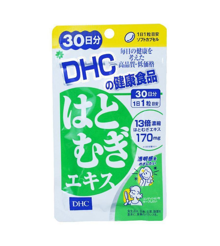 Viên uống Coix Extract DHC hỗ trợ dưỡng trắng da