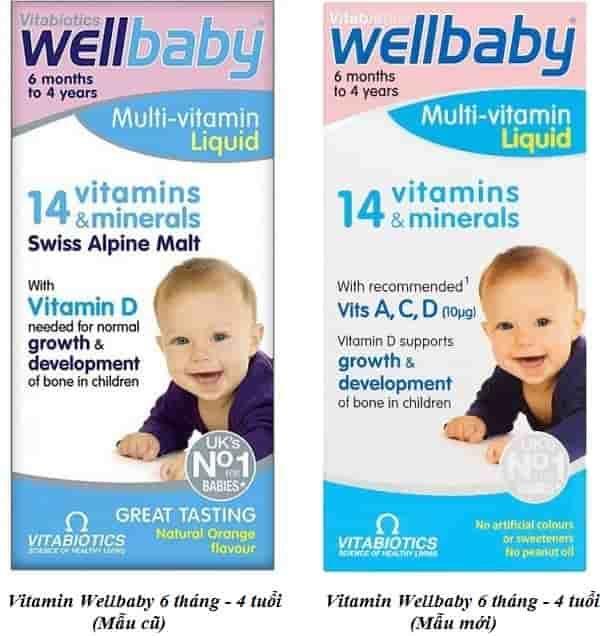 Wellbaby - Vitamin tổng hợp tăng sức đề kháng, miễn dịch cho bé