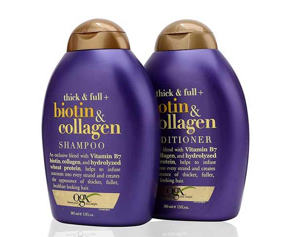 Biotin & Collagen - Dầu Gội kích thích mọc tóc OGX chính hãng
