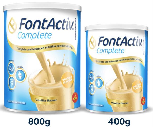 Sữa FonActiv Complete cho người già, ốm, mệt mỏi
