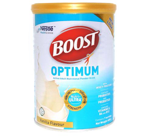 Sữa Boost Optimum 400g cho người đang hồi phục sau ốm dậy, phẫu thuật...