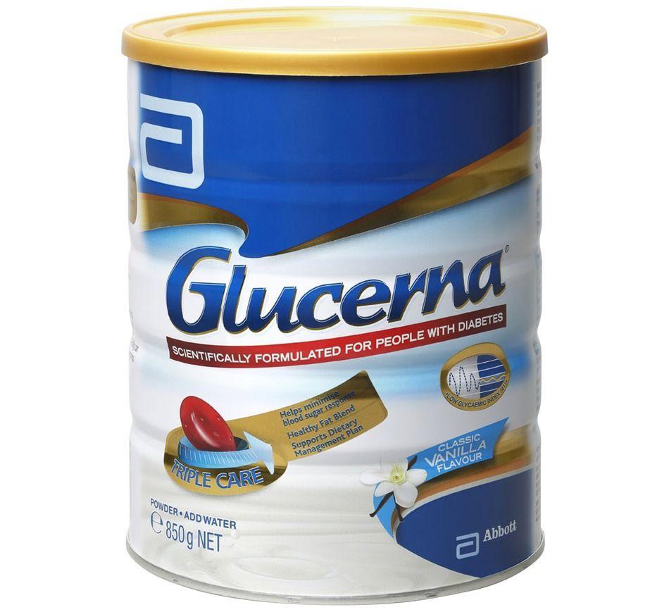 Sữa cho người tiểu đường Glucerna hương Vani 850g