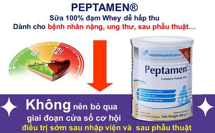 Sữa Peptamen dành cho người bệnh ung thu, người kém hấp thu 2