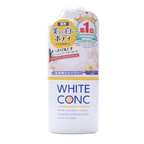 Sữa tắm trắng da White Conc Body tốt không? Dùng có bị bắt nắng không?