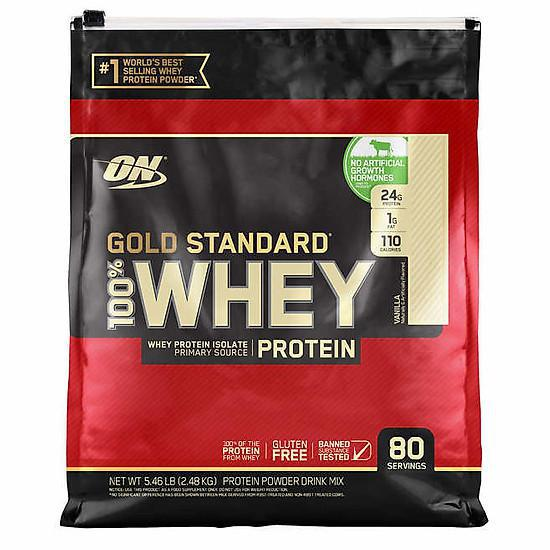 Ưu điểm của sữa tăng cơ Whey Gold Standard