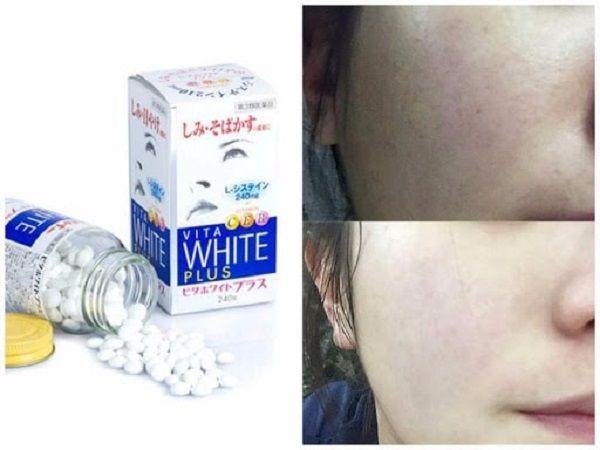 Thành phần của viên uống trắng da Vita White Plus