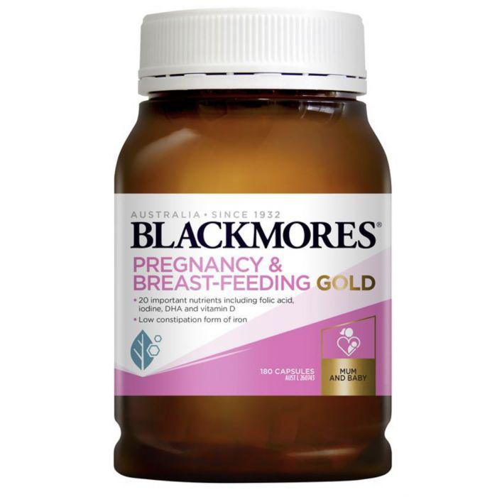 Vitamin bầu Blackmores Pregnancy Gold của Úc