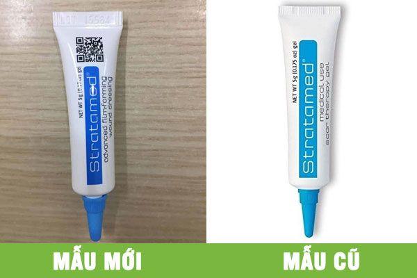 Stratamed tuýp 5g - Kem trị sẹo hiệu quả, dùng cho vết thương hở, hiệu quả