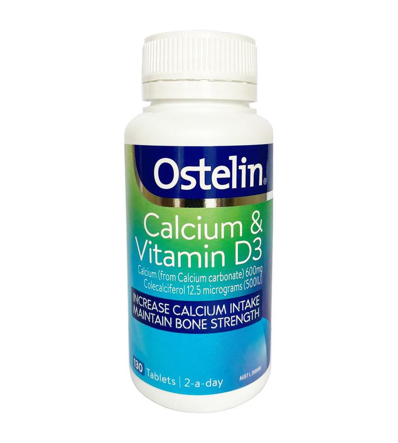 Vitamin D & Calcium Ostelin của Úc - Bổ xung Canxi, ngừa loãng xương