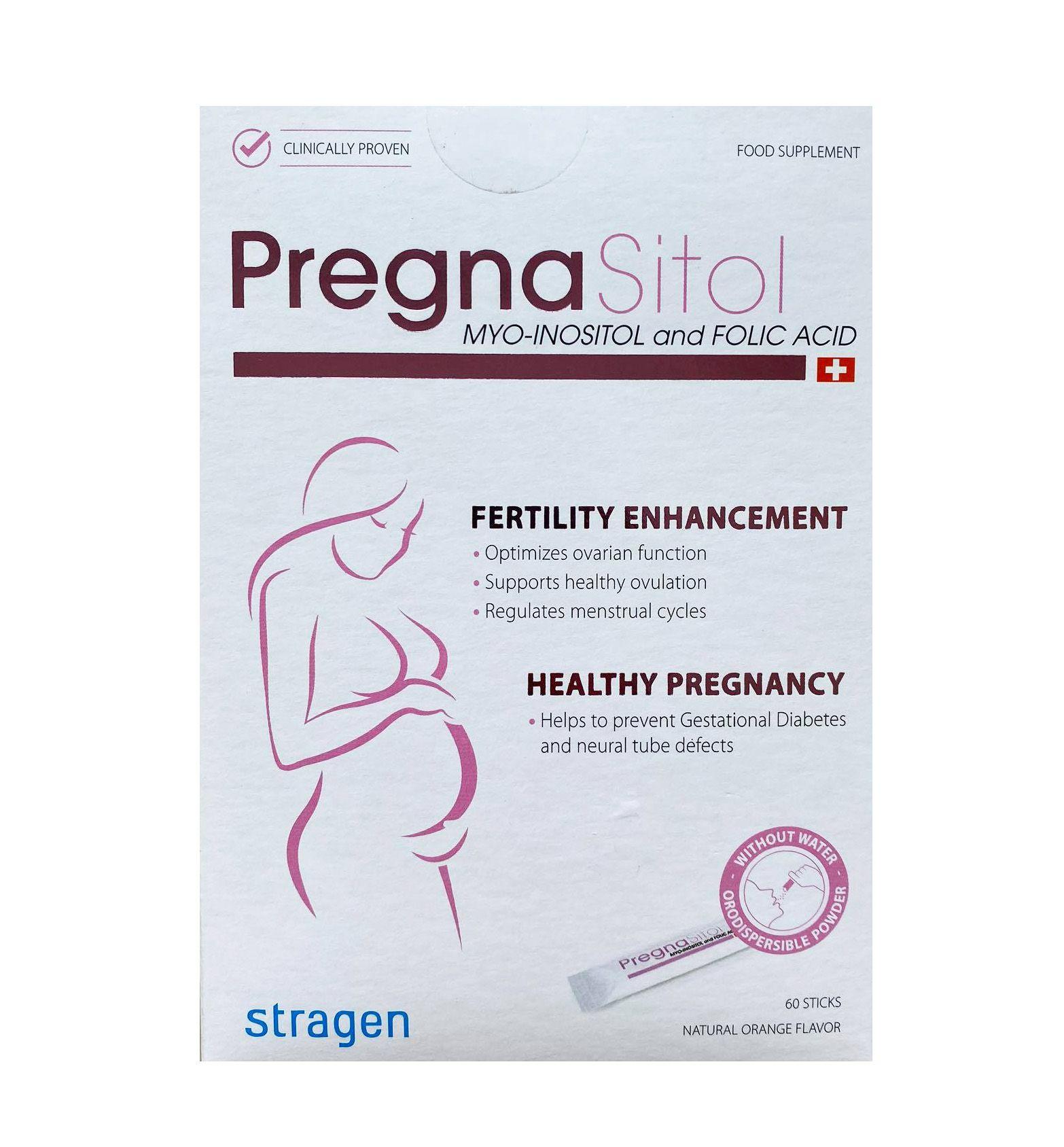 Gói uống Pregnasitol hỗ trợ tăng cường khả năng rụng trứng và thụ thai