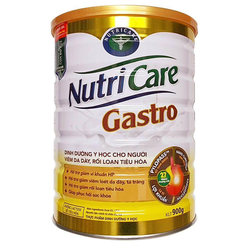 Sữa dinh dưỡng Nutricare Gastro hộp 900g