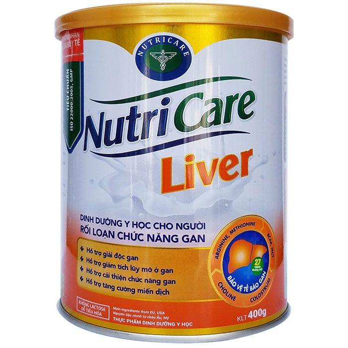 Sữa dinh dưỡng Nutricare Liver Hộp 400g