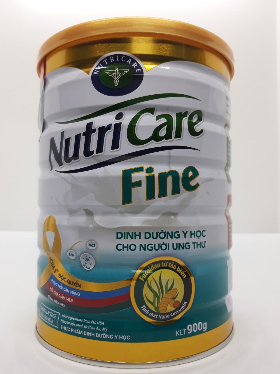 Sữa dinh dưỡng Nutricare Fine hộp 900g