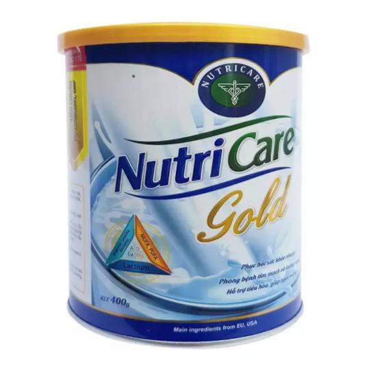 Sữa Nutricare Gold hộp 400g