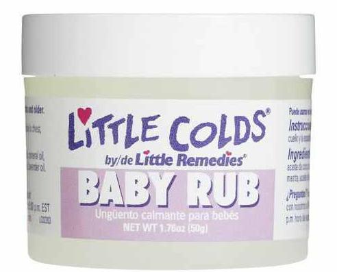 Dầu bôi ấm ngực cho bé Little Remedies Baby Rub chính hãng Mỹ, hũ 50g