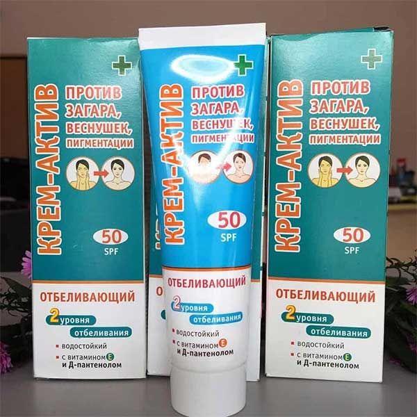 Công dụng của kem chống nắng Nga lên da 2 tone