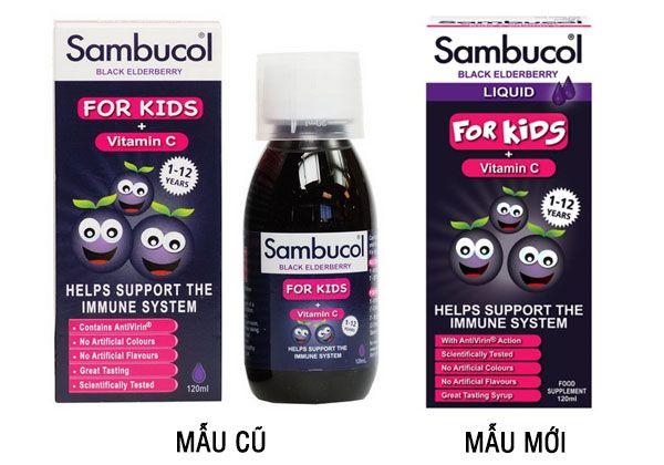 Siro Sambucol - Tăng cường sức đề kháng cho trẻ từ 1-12 Tuổi
