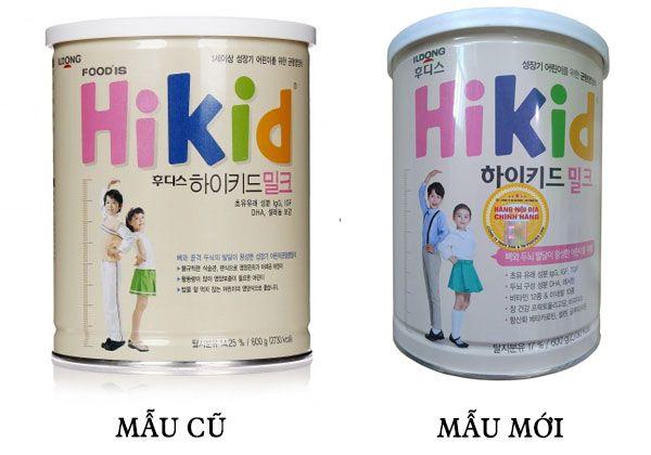 Sữa Hikid hỗ trợ tăng chiều cao cho bé 1-9 tuổi Hàn Quốc