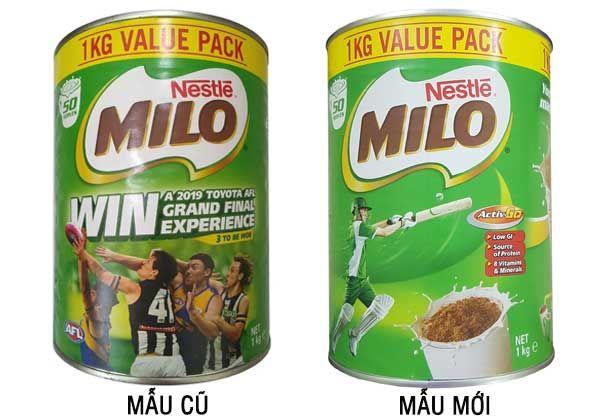 Sữa Milo Nestle Úc giàu năng lượng, bổ sung dinh dưỡng cho trẻ trên 2 tuổi