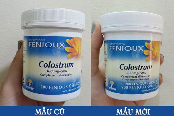 Sữa non Pháp Fenioux Colostrum 200 viên bồi bổ sức khỏe