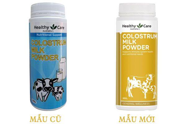 Sữa Non Healthy Care Colostrum Milk Powder Úc tăng đề kháng thể chất cho bé