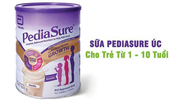 Sữa PediaSure Úc chính hãng cho trẻ từ 1 - 10 tuổi