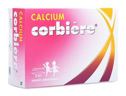 Calcium Corbiere - Thuốc Thuốc điều trị tình trạng thiếu Canxi 5ml 30 ống