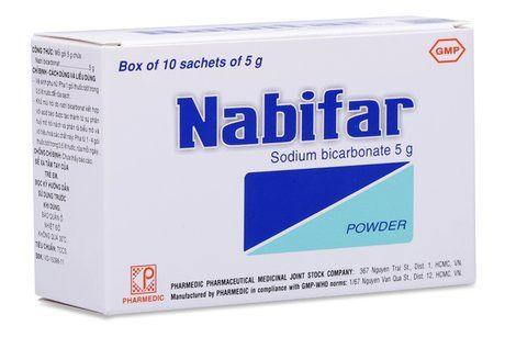 Thuốc Nabifar - Thuốc vệ sinh vùng kín phụ nữ, khử mùi hôi
