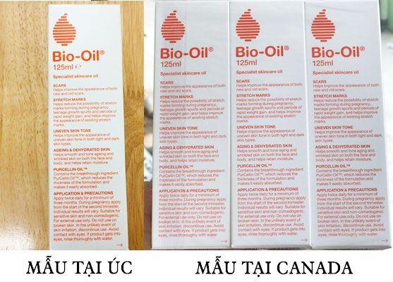 Bio Oil - Tinh dầu trị Sẹo thâm, Rạn da 125ml chính hãng Úc
