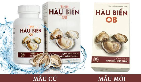 Mua Tinh hàu biển OB tăng cường sức mạnh, khỏe tinh trùng cho Nam